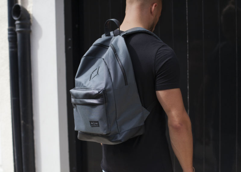 £10 CLEARANCE - Signature VITA VIVET Backpack in Slate Grey
