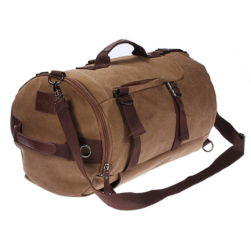 <b> Aiden </b><br> Vintage Canvas Weekender