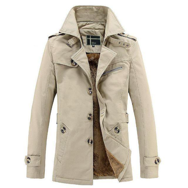 <b> Westley (Winter Edition)</b> <br> Single Breasted Trench Coat