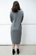 Varsity Dress in Grey