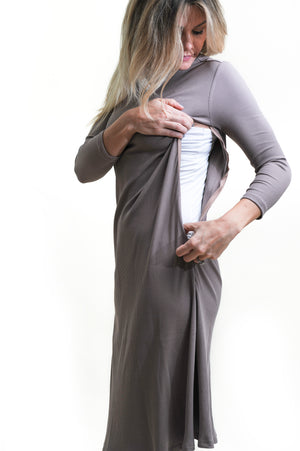 modest nursing friendly dresses