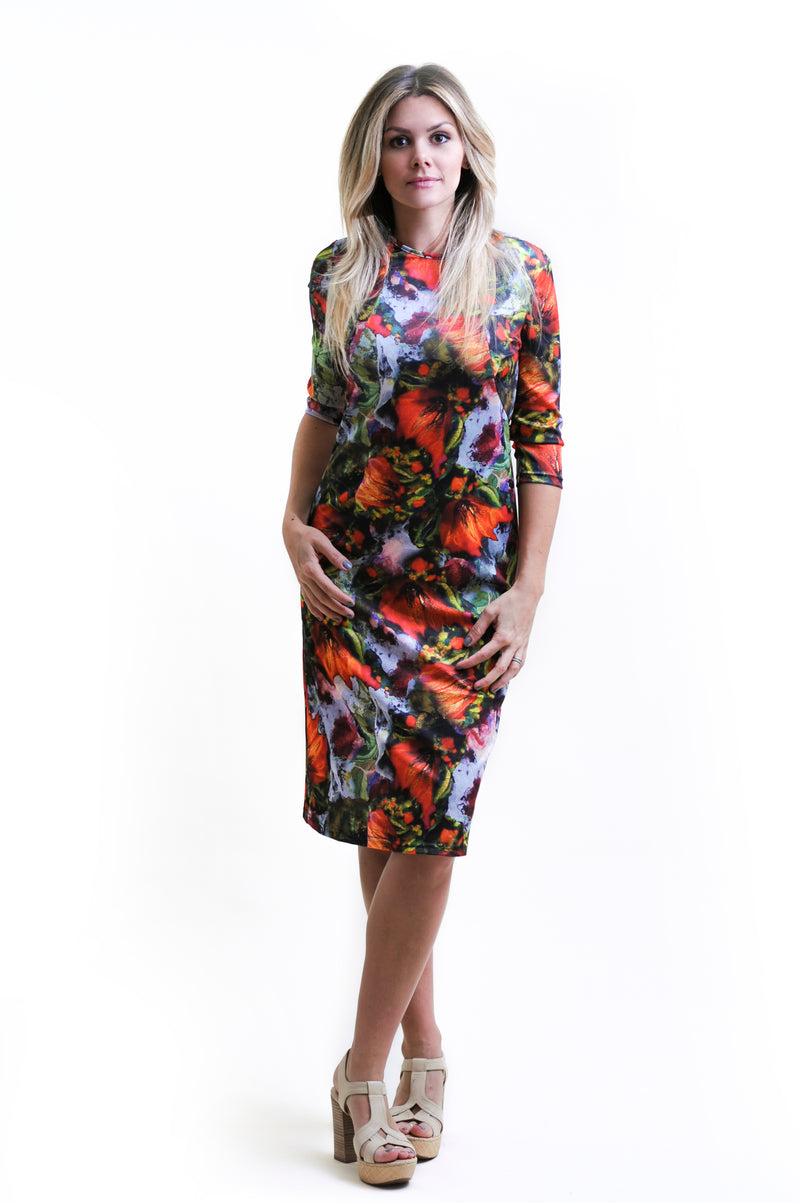 Mimi Petal Dress Nursing Friendly Collection