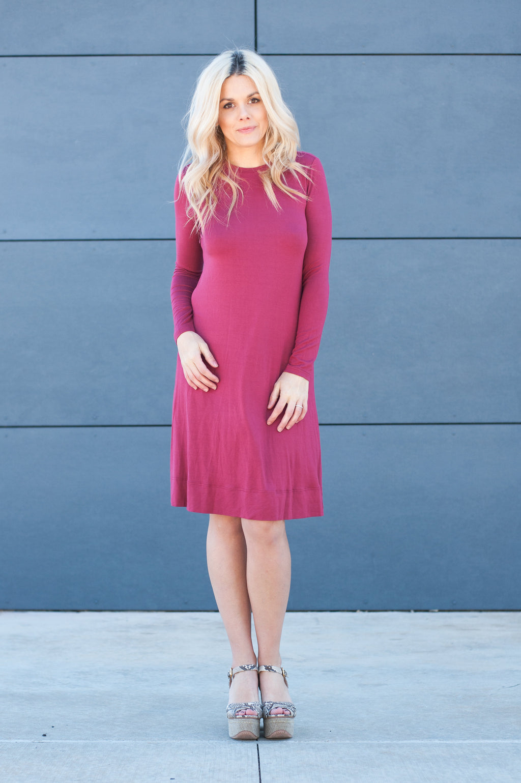 Nursing Friendly Modest Midi