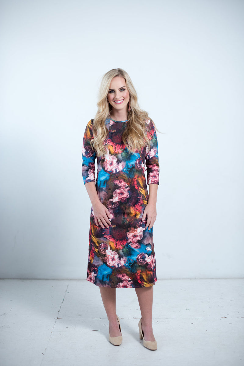 Petal Dress colorful