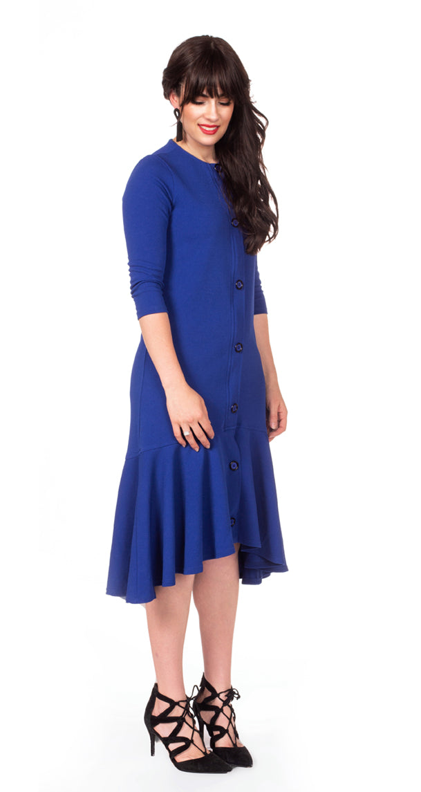 Dance Dress Deluxe - Nursing Dress with Hidden Zippers