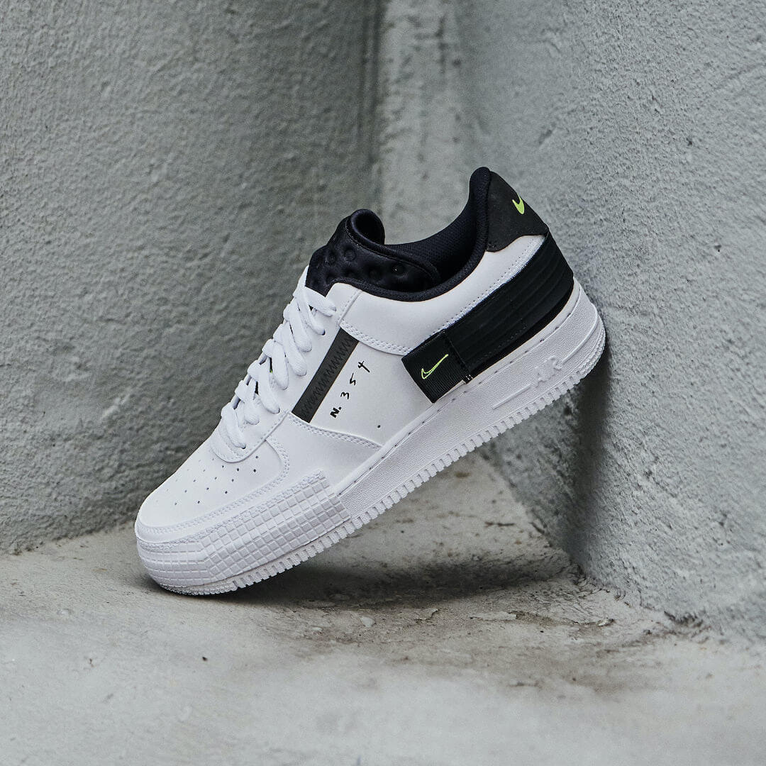 Air Force 1 Drop Type White Black Volt