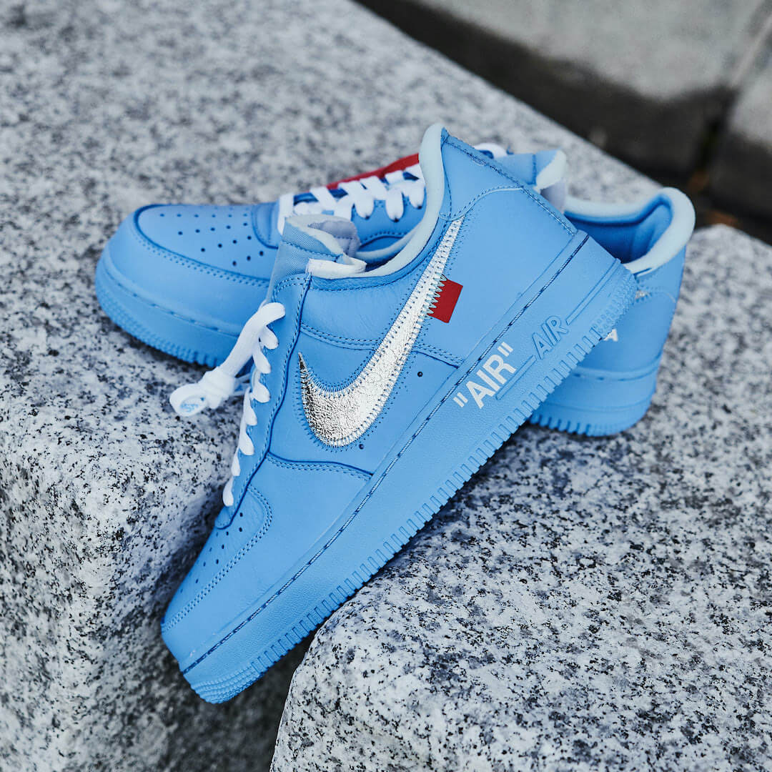 Nike Air Force 1 Low Off-White MCA University Blue - CI1173-400