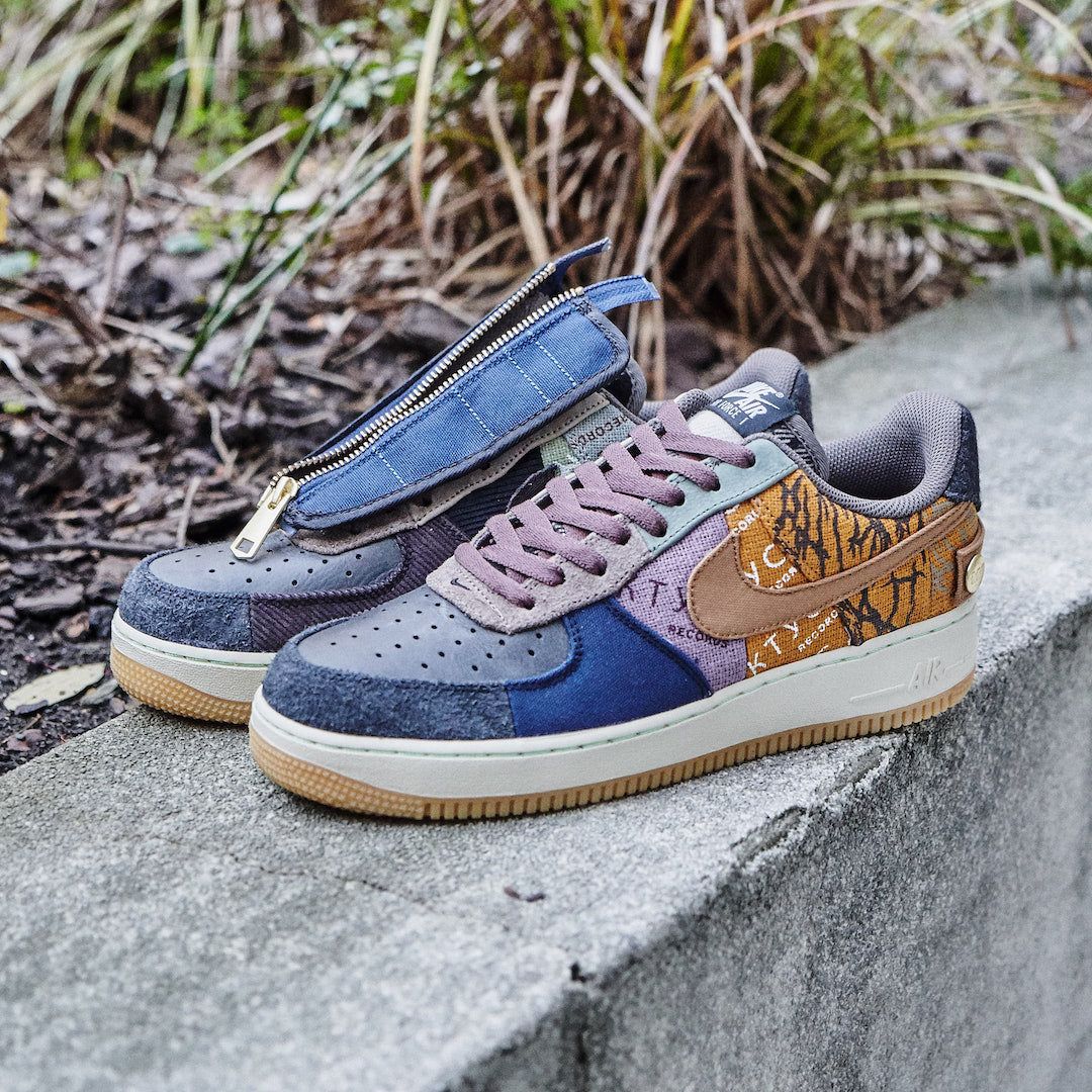 Air Force 1 Low Fossil Travis Scott