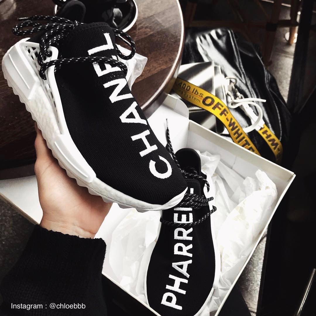 NMD Human Race TR Chanel x Colette