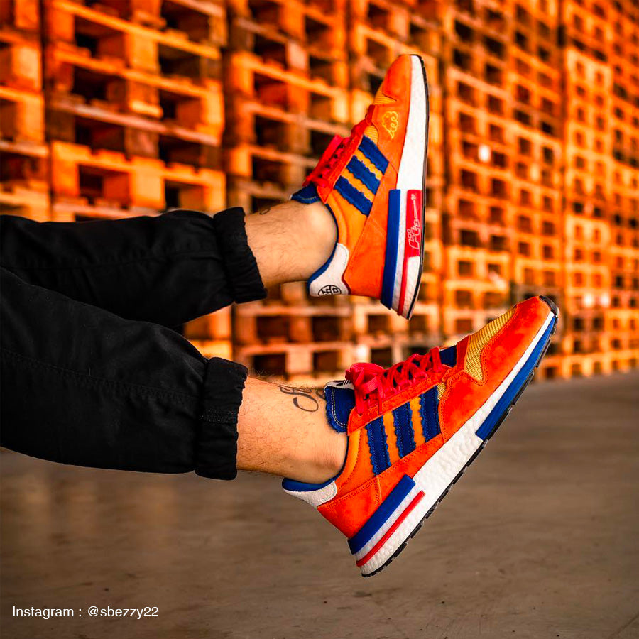 Adidas ZX 500 RM Dragon Ball Z Son Goku