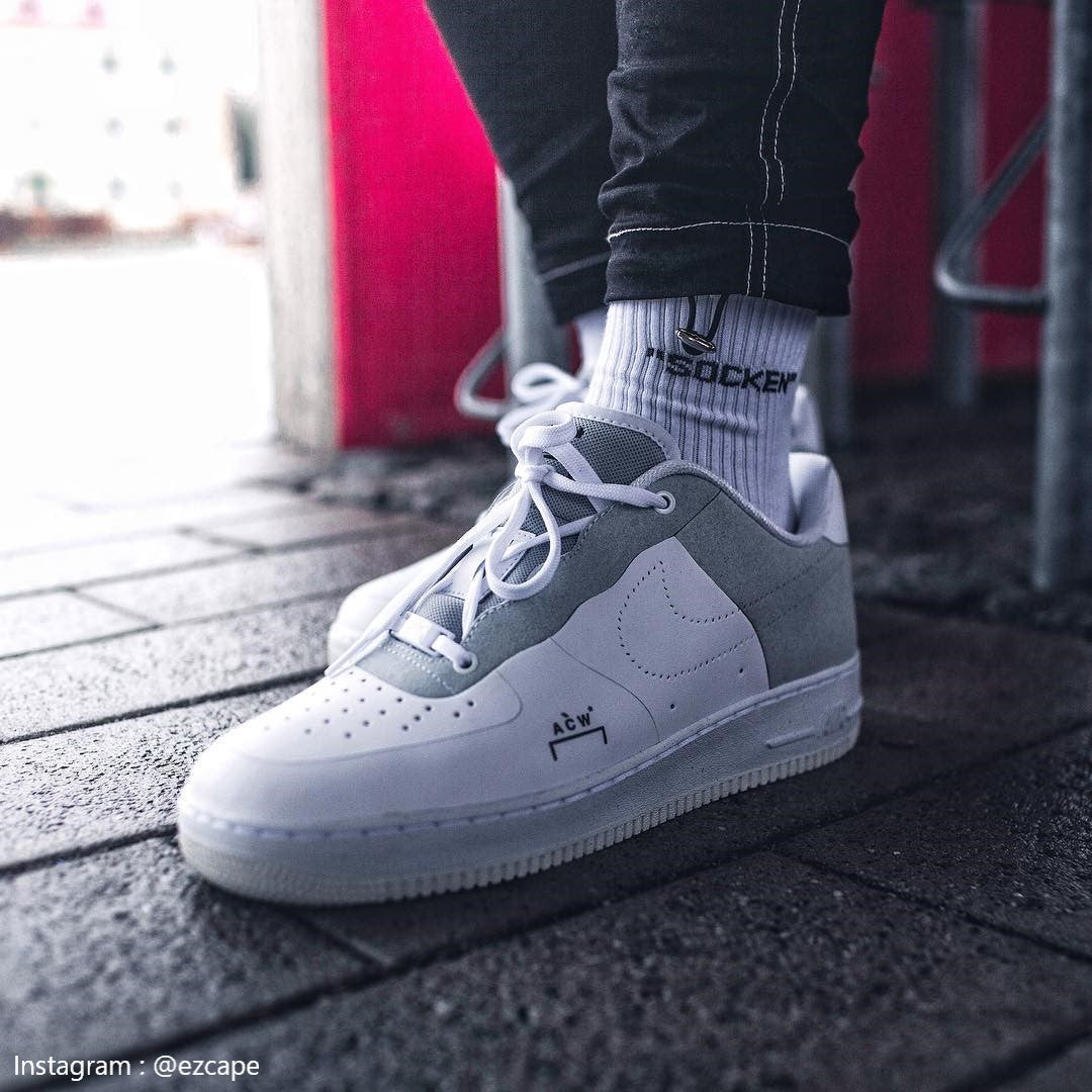 Nike Force 1 Low 'A Cold Wall White' Size 4.5 in 2019