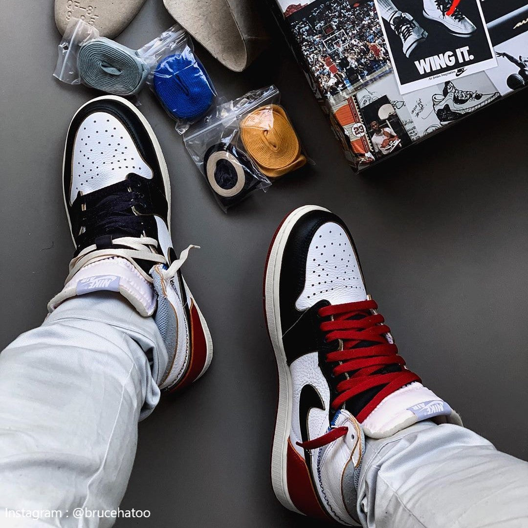 new product 6eb8c e1e3f Air Jordan 1 Retro High Union Los Angeles Black Toe