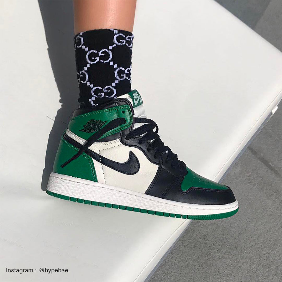newest collection a3c9d ec0f4 Air Jordan 1 retro high pine Green -555088-302-wethenew