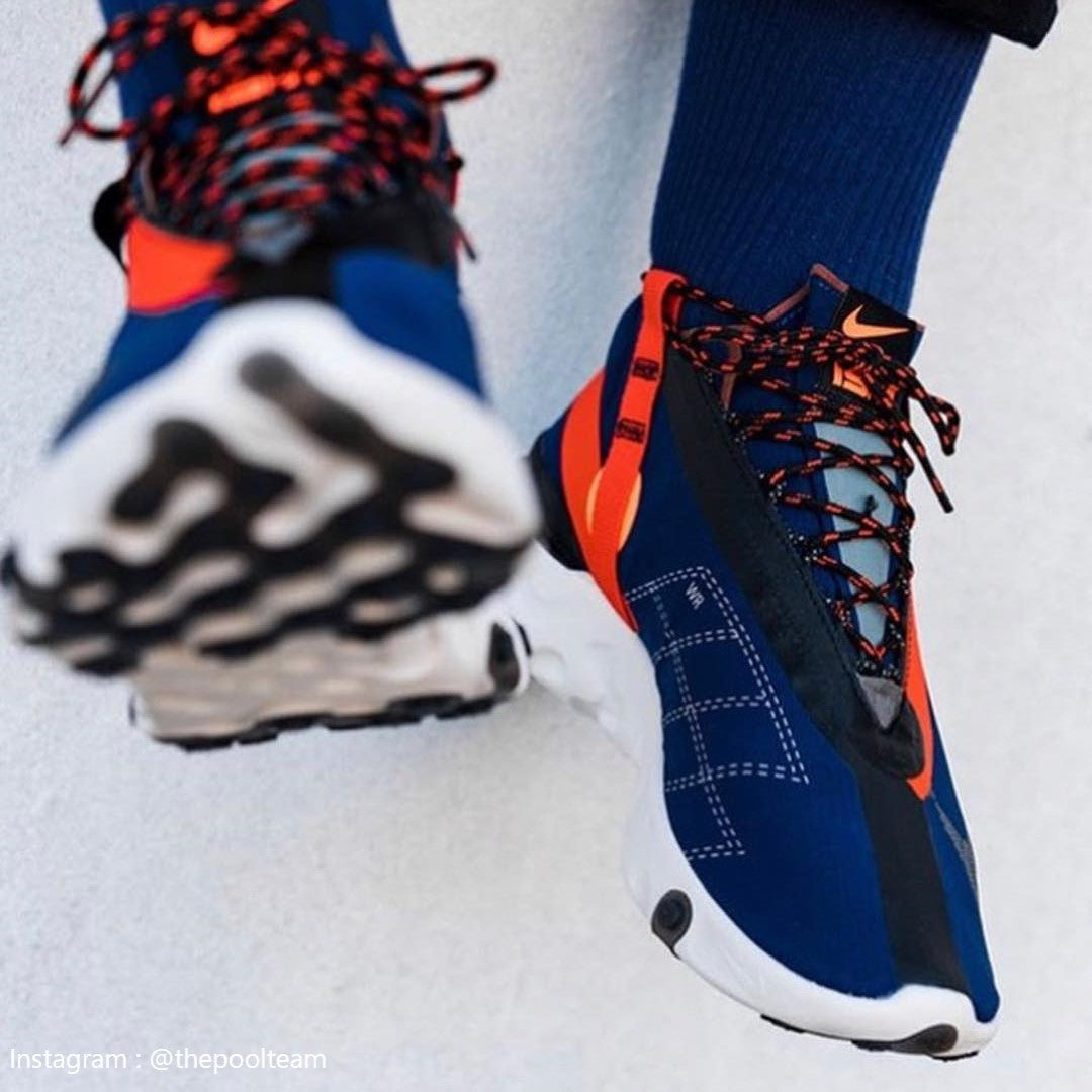ee0ac76222b Nike React Runner Mid WR ISPA Blue Void - AT3143-400 - Wethenew