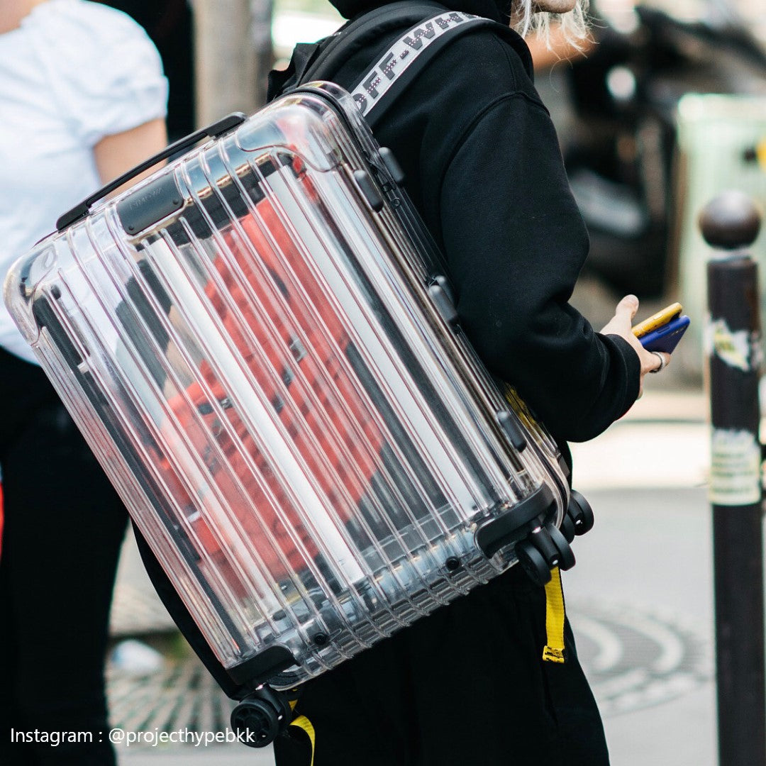 Off-White x Rimowa See Through Case Black