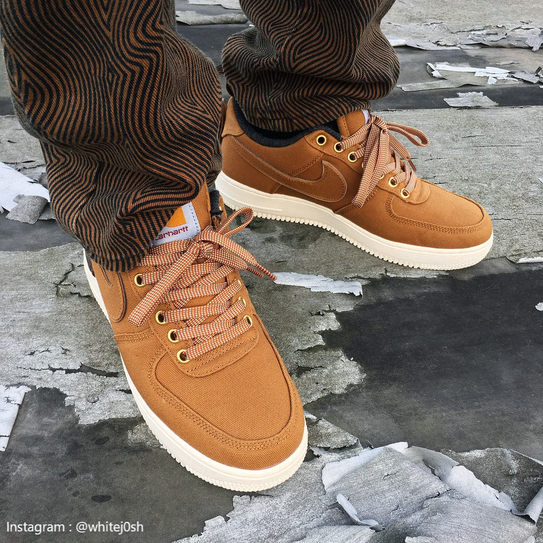 cheap for discount d1648 2f2ad Nike Air Force 1 low Carhartt WIP ALE Brown