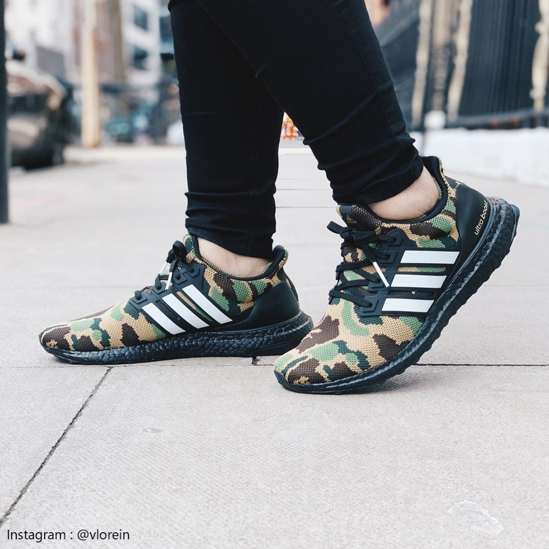 Adidas Bape Ultra Boost Green camo