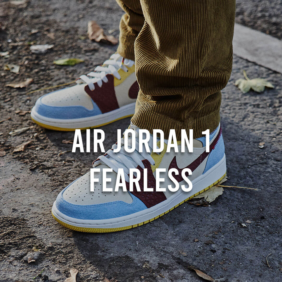 Collection Jordan 1 Fearless