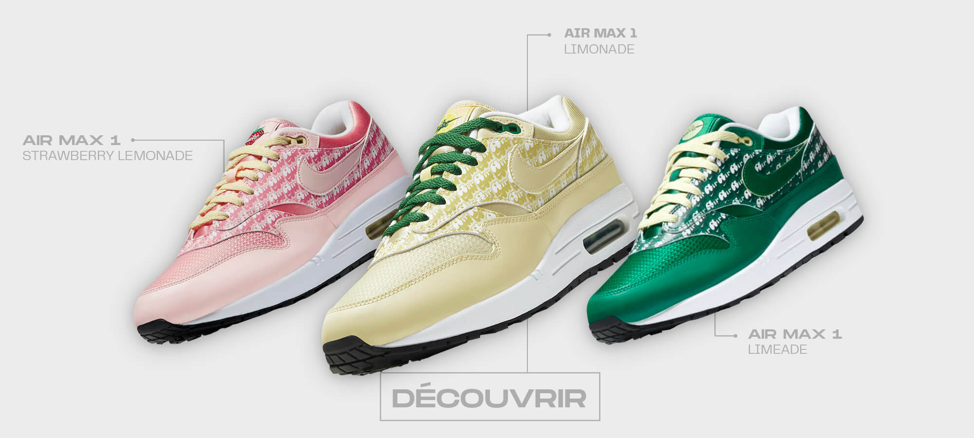 Nike Air Max 1 Pack Powerwall