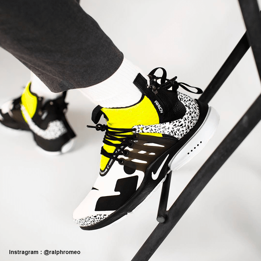 Nike Air Presto Mid Acronym Dynamic Yellow