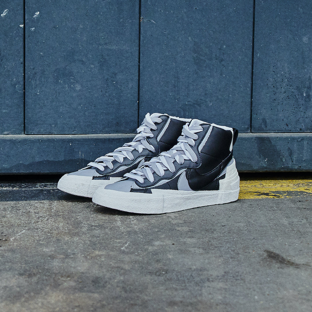 Nike Blazer High Sacai Black Grey