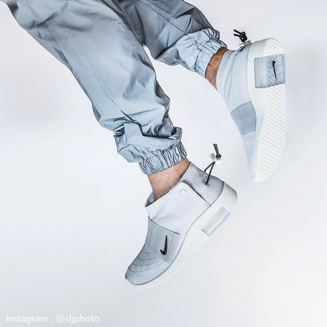 Nike Air Fear Of God Moccasin Pure Platinum