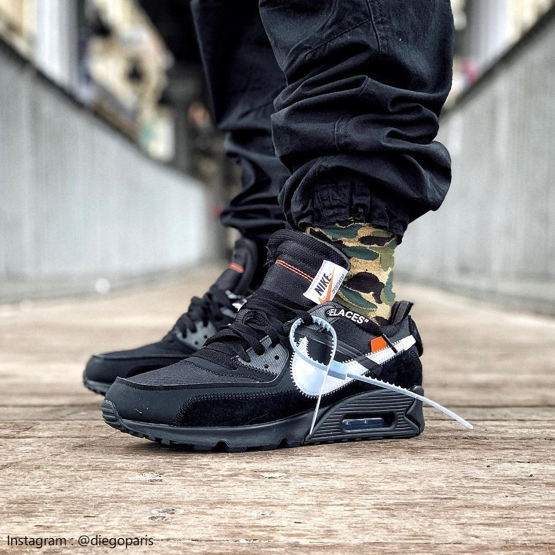 Air Max 90 Leather Shoes.