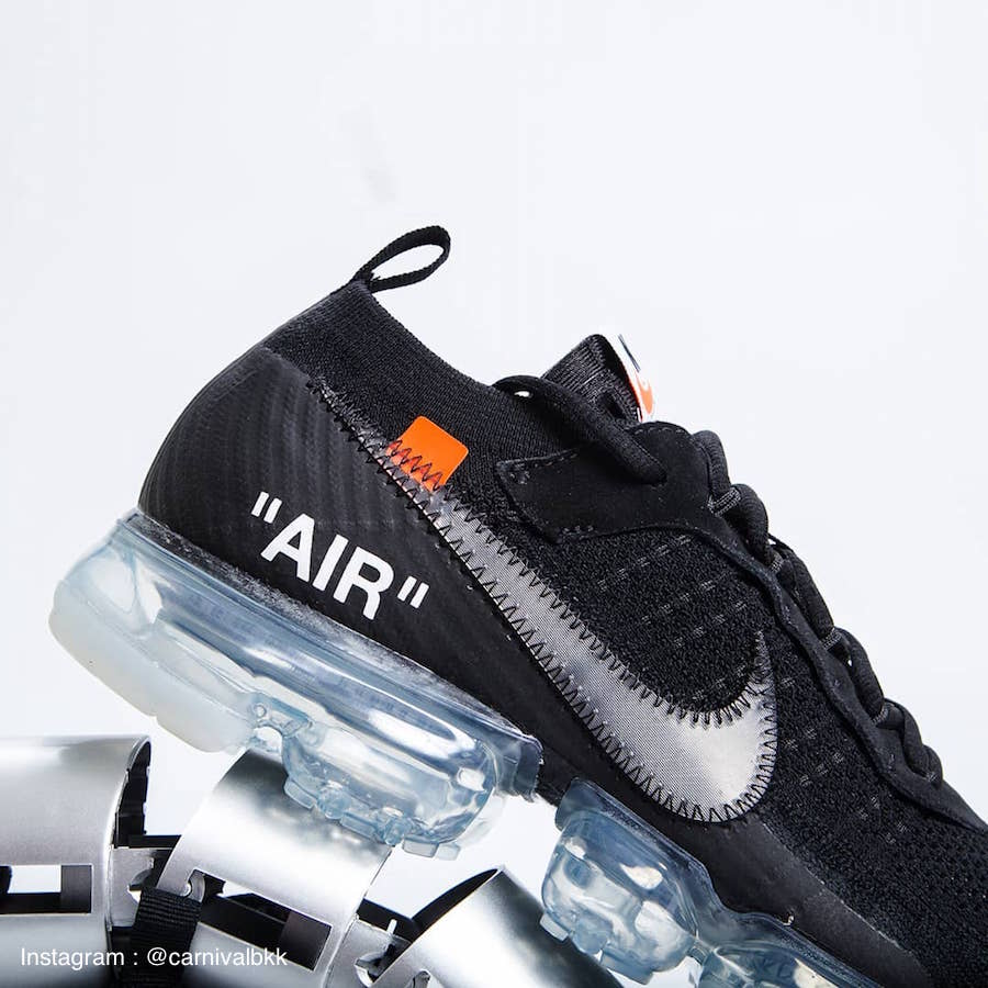 Nike Air Vapormax Off-White Black 2018