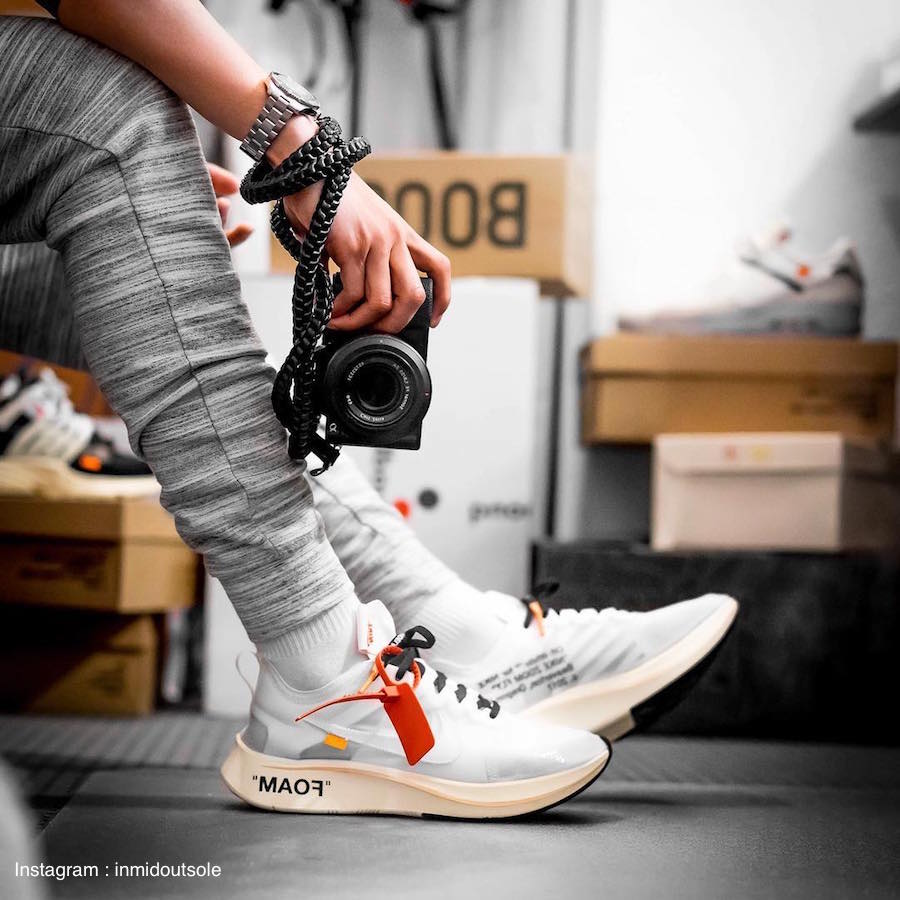 33a82b0f53231 Nike Zoom Fly Off- White