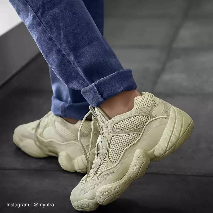 the best attitude dc0db 157fe Adidas Yeezy 500 Desert Rat Super Moon Yellow - DB2966 ...