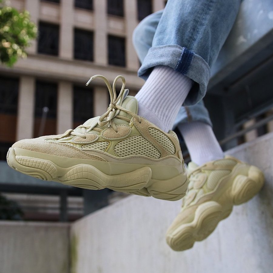 240f95bee9a91 Adidas Yeezy 500 Desert Rat Super Moon Yellow - DB2966 - Wethenew