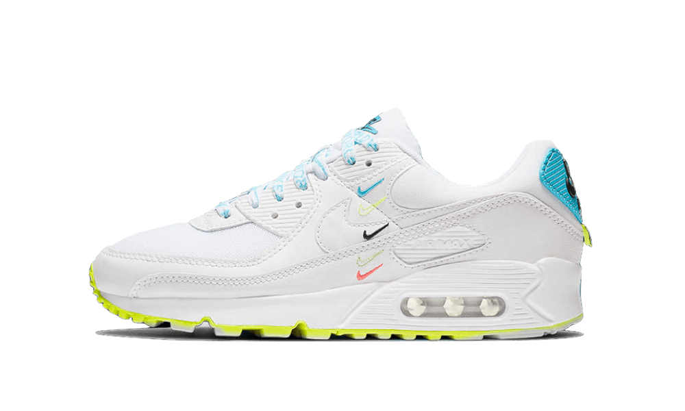 Nike Air Max 90 Worldwide White Sky Volt - CK7069-100