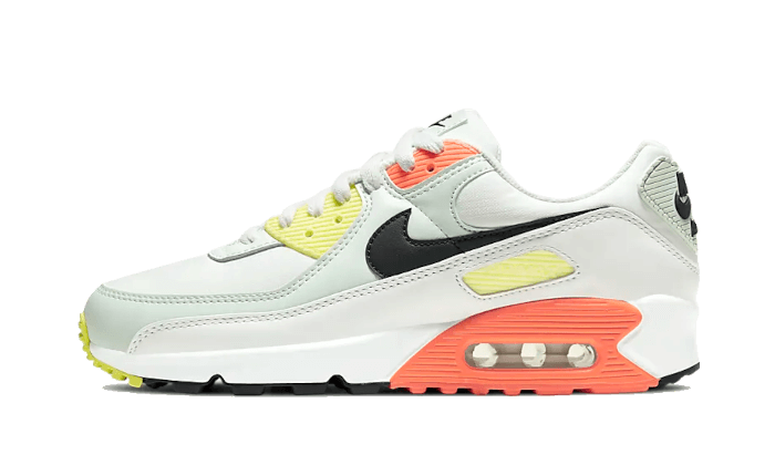 Air Max 90 Summit White Dark Smoke Grey Barely Green - CV8819-101