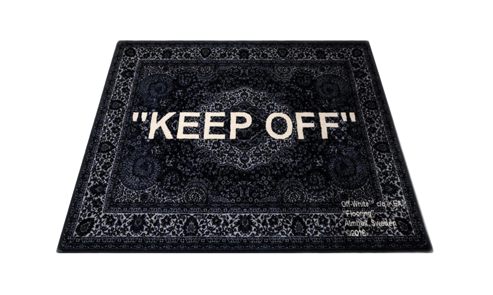 "Ikea ""KEEP OFF"" Tapis"
