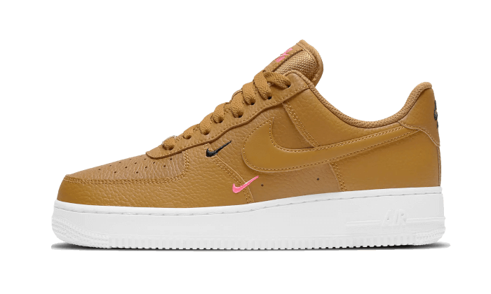 Nike Air Force 1 Low Mini Swoosh Wheat Pink (W) - CT1989-700