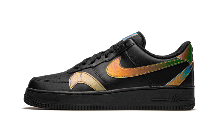 Nike Air Force 1 Low Misplaced Swooshes Black Multi - CK7214-001