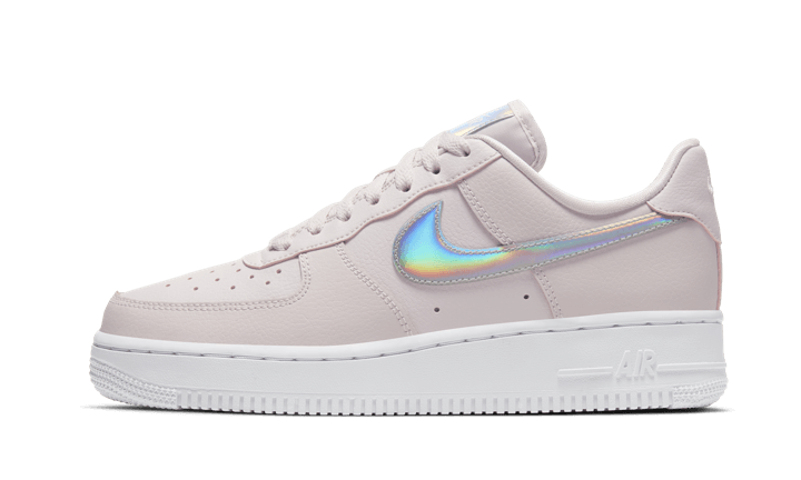 air force 1 grise et rose