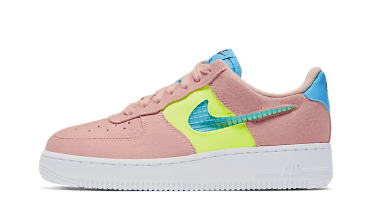 Nike Air Force 1 Low Washed Coral Ghost Green - CJ1647-600