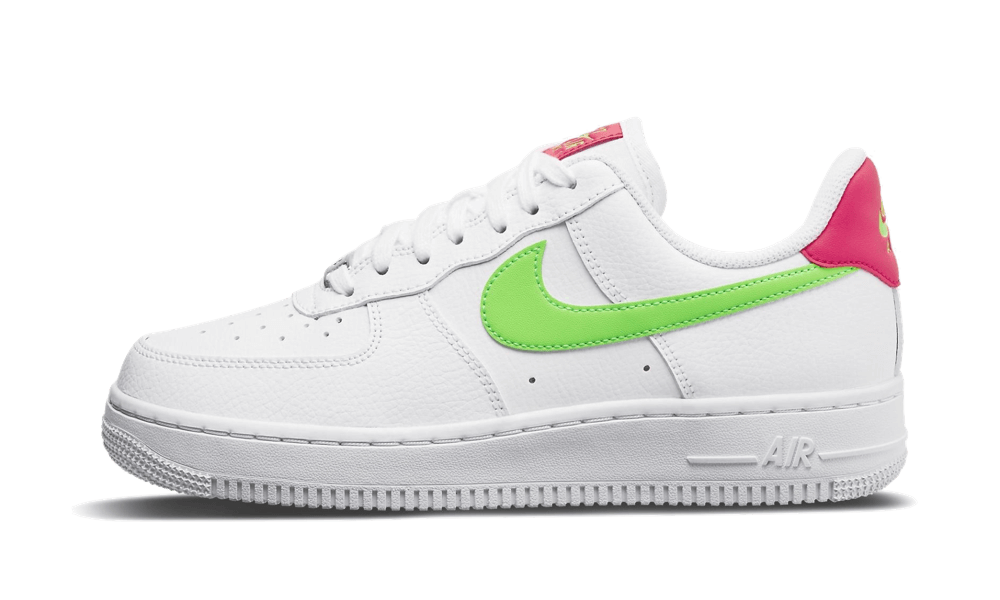 Nike Air Force 1 Low '07 Laser Crimson Green Strike - CT4328-100