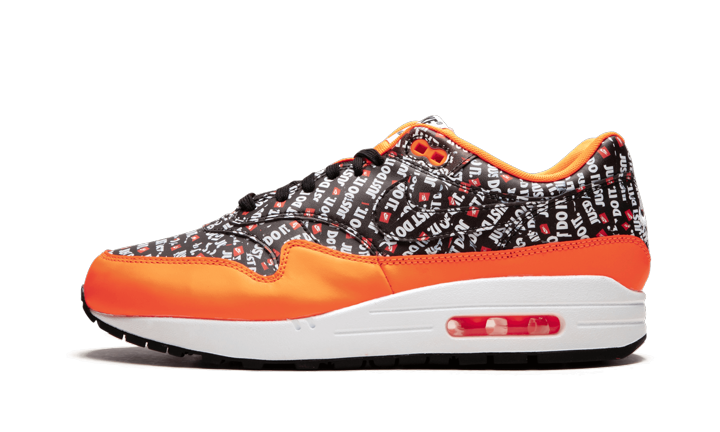 Air Max 1 Premium Orange Just Do It