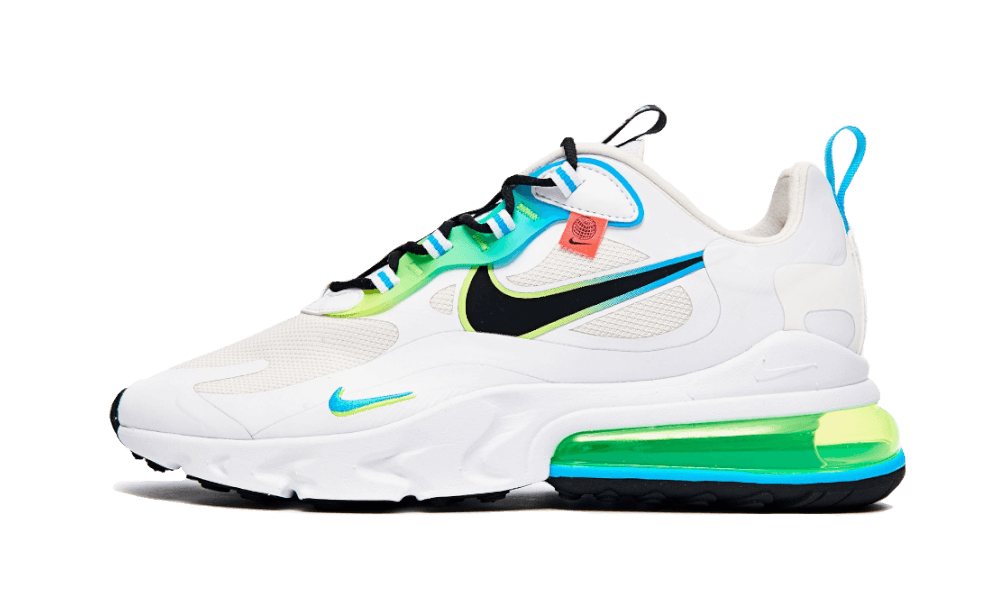 Nike Air Max 270 React Worldwide Blue Fury - CK6457-100