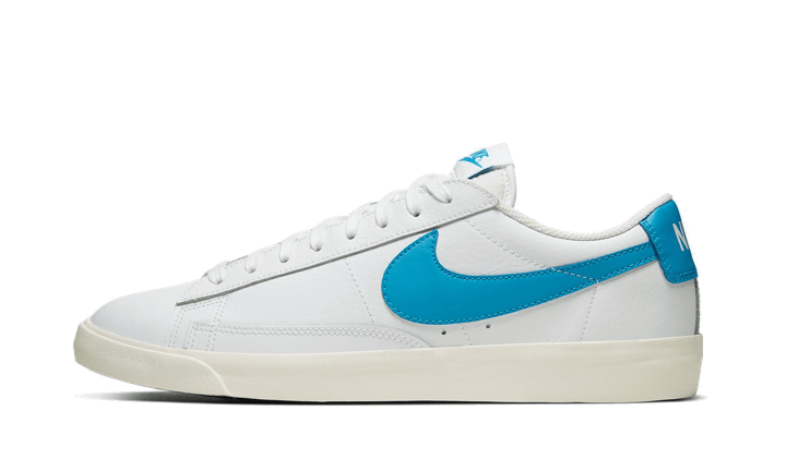 Nike Blazer Low Leather Laser Blue - CI6377-104