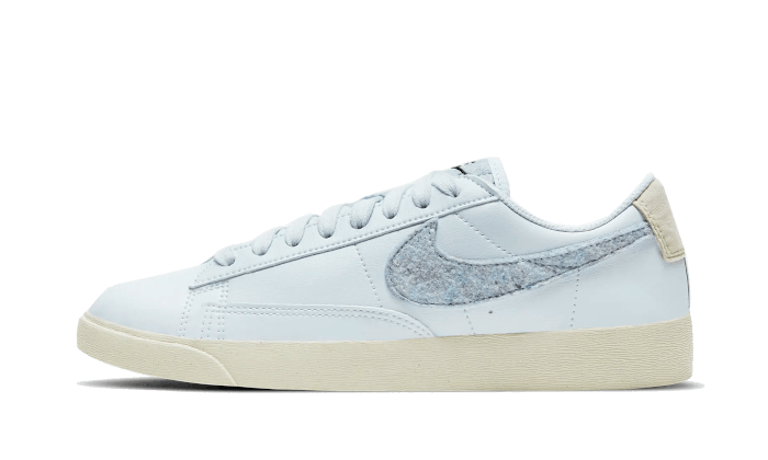 Nike Blazer Low SE Recycled Wool Armory Blue - DA4934-400