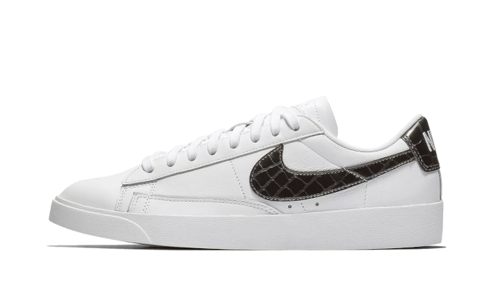 Nike Blazer Low White Black Croc - BQ0033-100