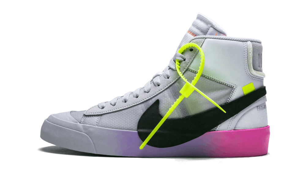 "Nike Blazer Mid Off-White Wolf Grey Serena Williams ""Queen"""