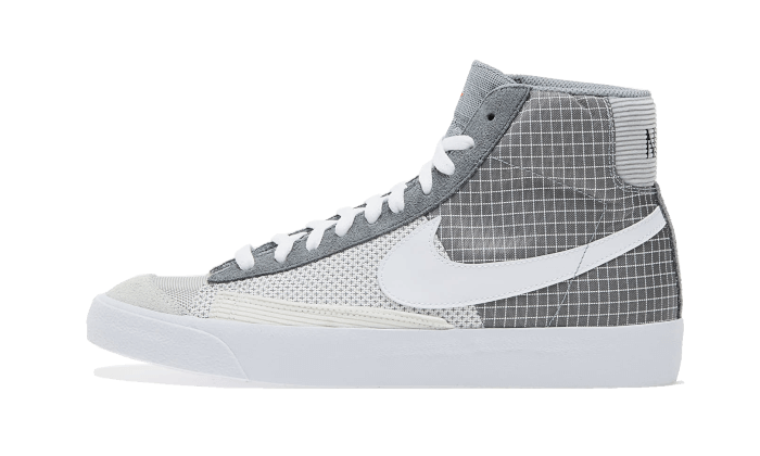 Nike Blazer Mid '77 Patch Smoke Grey - DD1162-001