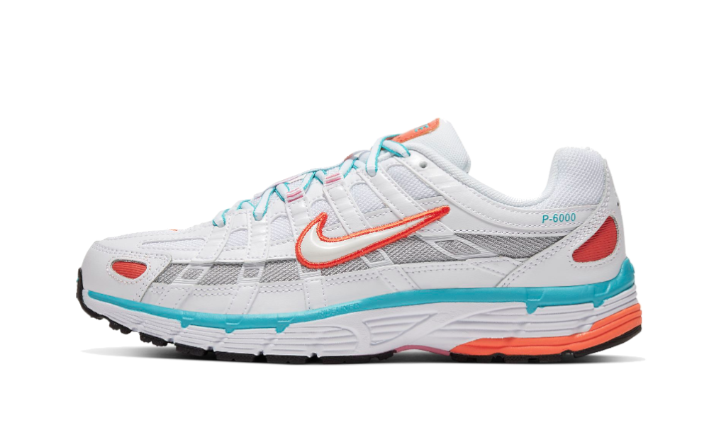 Nike P-6000 White Oracle Aqua - BV1021-105