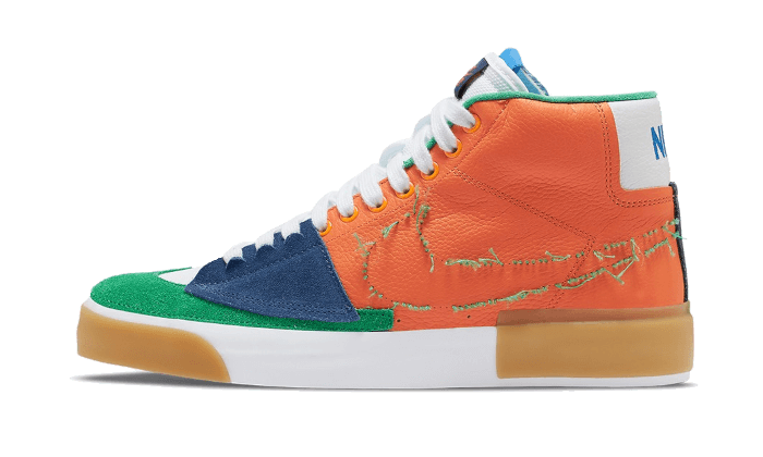 Nike SB Zoom Blazer Mid Edge Safety Orange University Gold - DA2189-800