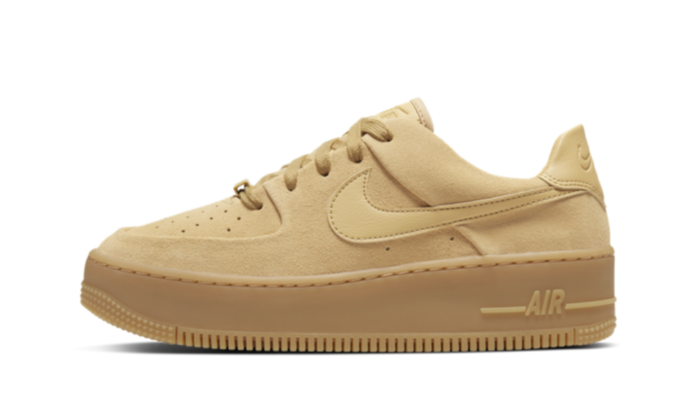 Nike Air Force 1 Sage Low Club Gold - CT3432-700