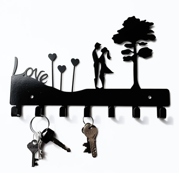 Metal Love Couple Key Holder